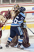 Corinne Boyles (BC - 29), Abbey Cook (Maine - 26) - The Boston College Eagles defeated the visiting University of Maine Black Bears 5 to 1 on Sunday, October 6, 2013, in their Hockey East season opener at Kelley Rink in Conte Forum in Chestnut Hill, Massachusetts.