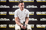 "Atletico de Madrid's Saul Ñiguez during the presentation of the video game ""Call of Duty. Infinite Warfare"" in Madrid, Spain. December 15, 2016. (ALTERPHOTOS/BorjaB.Hojas)"