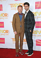 Jesse Tyler Ferguson &amp; Justin Mikita at the 2014 TrevorLIVE Los Angeles Gala at the Hollywood Palladium.<br /> December 7, 2014  Los Angeles, CA<br /> Picture: Paul Smith / Featureflash