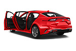 Car images close up view of a 2019 KIA Stinger GT 5 Door Hatchback doors