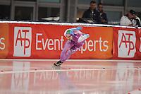 SCHAATSEN: AMSTERDAM: Olympisch Stadion, 28-02-2014, KPN NK Sprint/Allround, Coolste Baan van Nederland, Jesper Hospes, ©foto Martin de Jong