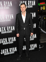 Alec Utgoff at the Los Angeles premiere of his movie &quot;Jack Ryan: Shadow Recruit&quot; at the TCL Chinese Theatre, Hollywood.<br /> January 15, 2014  Los Angeles, CA<br /> Picture: Paul Smith / Featureflash