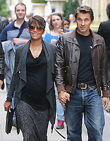 Halle Berry and Olivier Martinez in Paris - France