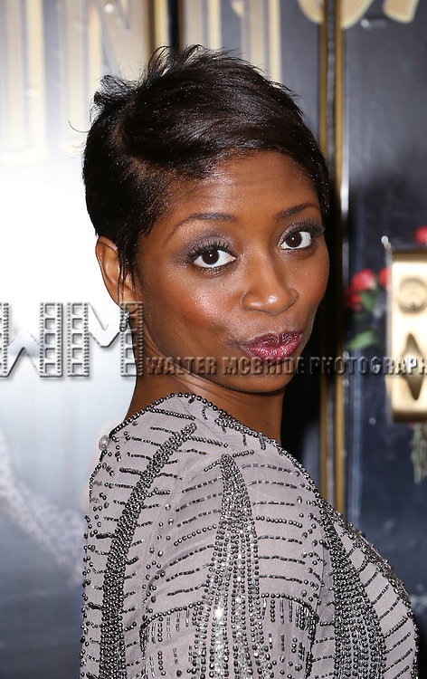 Montego Glover attends the Broadway Opening Night Performance of  'Living on Love'  at  The Longacre Theatre on April 20, 2015 in New York City.