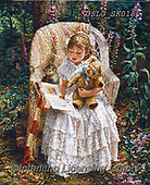 CHILDREN, KINDER, NIÑOS, paintings+++++,USLGSK0185,#K#, EVERYDAY ,Sandra Kock, victorian
