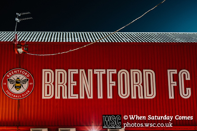 Brentford 1 Leeds United 1, 11/02/2020. Griffin Park, Championship. Photo by Simon Gill.