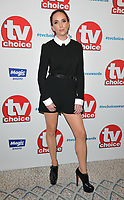 guest at the TV Choice Awards 2018, The Dorchester Hotel, Park Lane, London, England, UK, on Monday 10 September 2018.<br /> CAP/CAN<br /> &copy;CAN/Capital Pictures