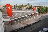 Puente peatonal de la universidad de Sonora