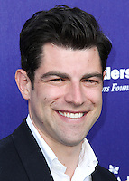 BRENTWOOD, LOS ANGELES, CA, USA - JUNE 07: Max Greenfield at the 13th Annual Chrysalis Butterfly Ball held at Brentwood County Estates on June 7, 2014 in Brentwood, Los Angeles, California, United States. (Photo by Xavier Collin/Celebrity Monitor)