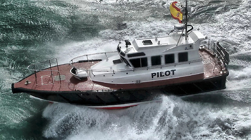 Safehaven Marine have launched 'San Cibrao', an Interceptor 42 pilot boat for the port of San Ciprian in Spain