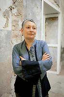 Ljudmila Ulitskaja, russian writer. Salone Internazionale del libro torino, 2011. © Leonardo Cendamo