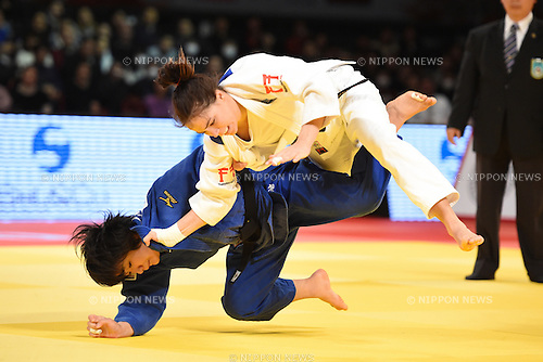 Erina Ike (JPN), <br /> DECEMBER 5, 2015 - Judo : <br /> IJF Grand Slam Tokyo 2015 International Judo Tournament <br /> Women's -70kg Bronze medal match <br /> at Tokyo Metropolitan Gymnasium, Tokyo, Japan. <br /> (Photo by AFLO SPORT)