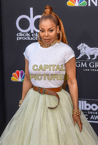 LAS VEGAS, NV - MAY 20: Janet Jackson at the 2018 Billboard Music Awards at the MGM Grand Garden Arena in Las Vegas, Nevada on May 20, 2018. <br /> CAP/MPI/DAM<br /> &copy;DAM/MPI/Capital Pictures
