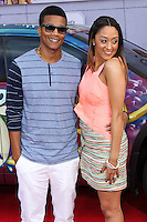"HOLLYWOOD, LOS ANGELES, CA, USA - MARCH 11: Cory Hardrict, Tia Mowry at the World Premiere Of Disney's ""Muppets Most Wanted"" held at the El Capitan Theatre on March 11, 2014 in Hollywood, Los Angeles, California, United States. (Photo by Xavier Collin/Celebrity Monitor)"