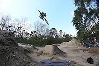 Lucas Daum mit seinem BMX Rad