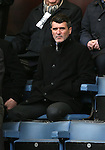 Republic of Ireland assistant coach Roy Keane turns up to watch the match - Barclays Premier League - Burnley vs West Bromwich Albion - Turf Moor Stadium  - Burnley - England - 8th February 2015 - Picture Simon Bellis/Sportimage