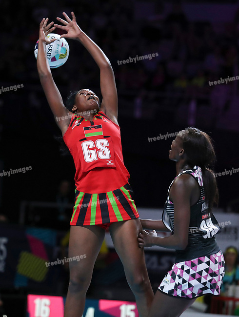29/10/17 Fast5 2017<br /> Fast 5 Netball World Series<br /> Hisense Arena Melbourne<br /> 5/6 Malawi v South Africa<br /> <br /> Joyce Mvula<br /> <br /> <br /> <br /> <br /> Photo: Grant Treeby