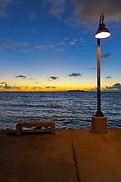Water, Beach, Moon, Nigthshots