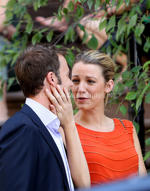 WWW.ACEPIXS.COM . . . . . ....July 17 2012, New York City....Actors Barry Watson and Blake Lively on the set of the TV show 'Gossip Girl' on July 17 2012 in New York City....Please byline: Nancy Rivera - Ace Pictures.. . . . . . ..Ace Pictures, Inc:  ..(212) 243-8787 or (646) 679 0430..e-mail: picturedesk@acepixs.com..web: http://www.acepixs.com