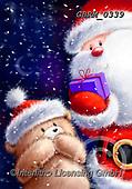 Roger, CHRISTMAS ANIMALS, WEIHNACHTEN TIERE, NAVIDAD ANIMALES, paintings+++++,GBRM0339,#XA#
