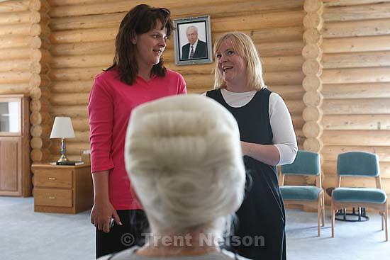 Eldorado - Mary Batchelor reunion with her great aunt Marjorie Holm. Heidi Foster. Thursday, June 26, 2008. YFZ Ranch