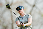 CHON BURI, THAILAND - FEBRUARY 16:  Morgan Pressel of USA tees off on the 18th hole during day one of the LPGA Thailand at Siam Country Club on February 16, 2012 in Chon Buri, Thailand.  Photo by Victor Fraile / The Power of Sport Images