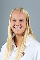 STANFORD, CA-OCTOBER 30, 2014- Lauren Norheim of the Stanford Women's Water Polo Team 2014-2015.