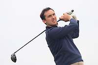 Colin Woodroofe (Dun Laoghaire) on the 9th tee during Round 1 of The East of Ireland Amateur Open Championship in Co. Louth Golf Club, Baltray on Saturday 1st June 2019.<br /> <br /> Picture:  Thos Caffrey / www.golffile.ie<br /> <br /> All photos usage must carry mandatory copyright credit (© Golffile | Thos Caffrey)