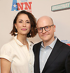 Benjamin Endsley Klein and wife attend a Special Broadway HD screening of Holland Taylor's 'Ann' at the the Elinor Bunin Munroe Film Center on June 14, 2018 in New York City.