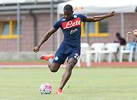 Duvan Zapata  <br /> ritiro precampionato Napoli Calcio a  Dimaro 13<br /> Luglio 2015<br /> <br /> Preseason summer training of Italy soccer team  SSC Napoli  in Dimaro Italy July 13, 2015