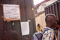 Roma, Centro Baobab di Via Cupa, 11 settembre 2015, il punto di accoglienza e solidarietà per gli immigrati ed i richiedenti asilo a Roma - Rome, Centre Baobab of Via Cupa, September 11th 2015, the point of hospitality and solidarity for immigrants and asylum seekers in Rome.