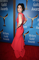 BEVERLY HILLS, CA - FEBRUARY 11:  Sarah Silverman at the 2018 Writers Guild Awards L.A. Ceremony at The Beverly Hilton Hotel on February 11, 2018 in Beverly Hills, California. <br /> CAP/MPI/FS<br /> &copy;FS/MPI/Capital Pictures