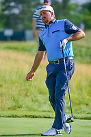 Graeme McDowell (NIR) watches his tee shot on 12 during Thursday's round 1 of the 117th U.S. Open, at Erin Hills, Erin, Wisconsin. 6/15/2017.<br /> Picture: Golffile | Ken Murray<br /> <br /> <br /> All photo usage must carry mandatory copyright credit (&copy; Golffile | Ken Murray)