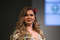 SÃO PAULO, SP, 24.07.2016 - MODA-SP - Desfile da marca CachopaBrasil durante o 14 Fashion Weekend Plus Size que acontece neste domingo, 24 no Centro de Convenções Frei Caneca. (Foto: Ciça Neder/Brazil Photo Press)
