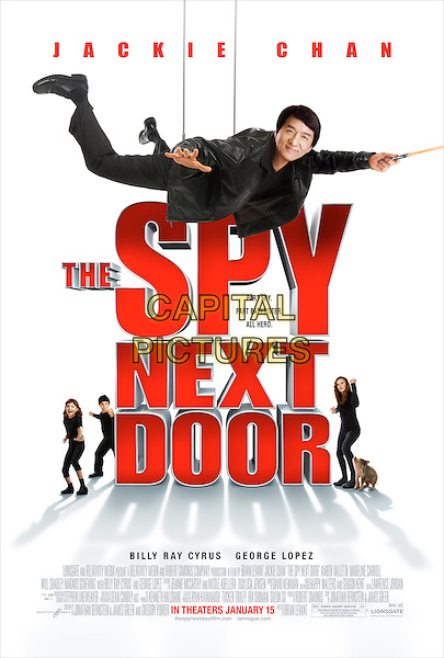 POSTER ART.in The Spy Next Door .*Filmstill - Editorial Use Only*.CAP/FB.Supplied by Capital Pictures.