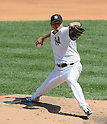 Hiroki Kuroda (Yankees),<br /> JULY 7, 2013 - MLB :<br /> Hiroki Kuroda of the New York Yankees pitches during the Major League Baseball game against the Baltimore Orioles at Yankee Stadium in The Bronx, New York, United States. (Photo by AFLO)