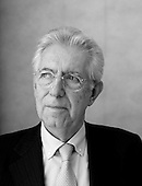 Portraits of Mario Monti by Piotr Malecki