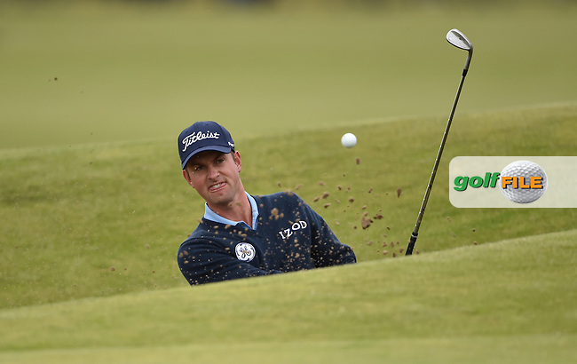 Webb SIMPSON (USA) during the 3rd round on Sunday of the 144th Open Championship, St Andrews Old Course, St Andrews, Fife, Scotland. 19/07/2015.<br /> Picture: Golffile | Fran Caffrey<br /> <br /> <br /> All photo usage must carry mandatory copyright credit (&copy; Golffile | Fran Caffrey)