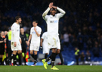 Leroy Fer of Swansea during the Barclays Premier League match between Chelsea and Swansea City at Stamford Bridge, London, England, UK. Saturday 25 February 2017