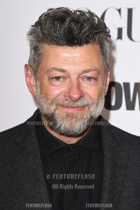 "LONDON, UK. October 31, 2018: Andy Serkis at the ""Widows"" special screening in association with Vogue at the Tate Modern, London.<br /> Picture: Steve Vas/Featureflash"