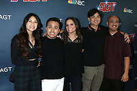 "LOS ANGELES - SEP 18:  Kayla Lee, Kodi Lee, Tina Lee, Derek Lee, Eric Lee at the ""America's Got Talent"" Season 14 Finale Red Carpet at the Dolby Theater on September 18, 2019 in Los Angeles, CA"