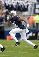 STATE COLLEGE, PA - SEPTEMBER 02:  Penn State S Marcus Allen (2) reads the play. The Penn State Nittany Lions defeated the Akron Zips 52-0 on September 2, 2017 at Beaver Stadium in State College, PA. (Photo by Randy Litzinger/Icon Sportswire)
