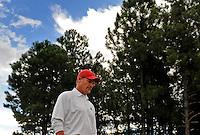 Jul 31, 2009; Flagstaff, AZ, USA; Arizona Cardinals head coach Ken Whisenhunt during training camp on the campus of Northern Arizona University. Mandatory Credit: Mark J. Rebilas-