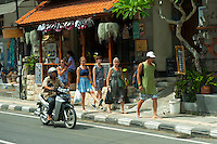The mob in Ubud.