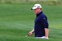 Jamie Donaldson (WAL) in a bunker on the 5th during Round 3 of the D+D Real Czech Masters at the Albatross Golf Resort, Prague, Czech Rep. 02/09/2017<br /> Picture: Golffile | Thos Caffrey<br /> <br /> <br /> All photo usage must carry mandatory copyright credit     (&copy; Golffile | Thos Caffrey)