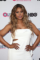 LOS ANGELES, CA - JULY 16: Laverne Cox at the 2017 Outfest Los Angeles Film Festival Closing Night Gala Of Freak Show at The Theater at ACE Hotel in Los Angeles, California on July 16, 2017. Credit: Faye Sadou/MediaPunch