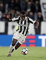 Calcio, Serie A: Juventus - Atalanta, Torino, Allianz Stadium, 14 marzo 2018. <br /> Juventus' Blaise Matuidi in action during the Italian Serie A football match between Juventus and Atalanta at Torino's Allianz stadium, March 14, 2018.<br /> UPDATE IMAGES PRESS/Isabella Bonotto
