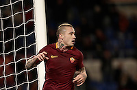 Calcio, ottavi di finale di Tim Cup: Roma vs Sampdoria. Roma, stadio Olimpico, 19 gennaio 2017.<br /> Roma's Radja Nainggolan celebrates after scoring during the Italian Cup round of 16 football match between Roma and Sampdoria at Rome's Olympic stadium, 19 January 2017.<br /> UPDATE IMAGES PRESS/Isabella Bonotto