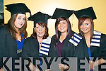 Yvonne Costello, Tulligmore, Mary Lynch, Killarney, Amanda O'Sullivan, Firies and Caitriona Roche, Abbeyfeale graduating from Office Information Systems.