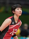 Yuki Ishii (JPN),<br /> AUGUST 8, 2016 - Volleyball : <br /> Women's Preliminary Pool A <br /> between Japan 3-0 Cameroon <br /> at Maracanazinho <br /> during the Rio 2016 Olympic Games in Rio de Janeiro, Brazil.<br /> (Photo by Enrico Calderoni/AFLO SPORT)